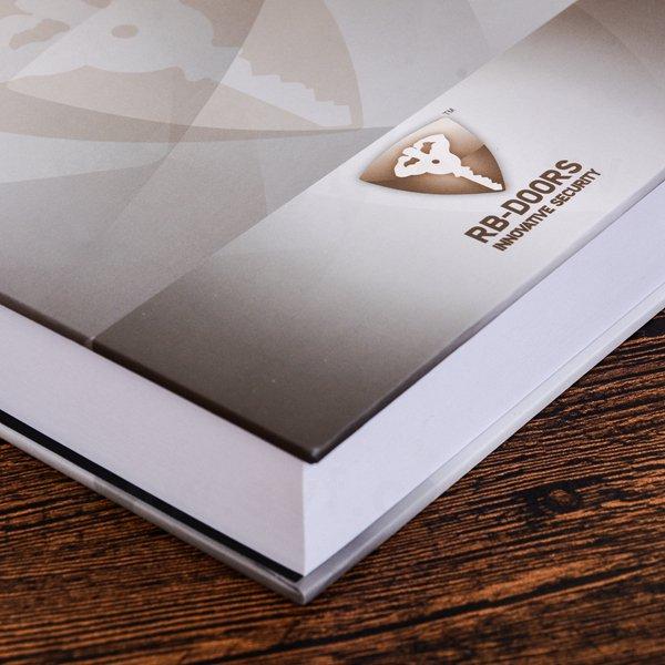 方型便條紙-硬殼彩色印刷上霧膜