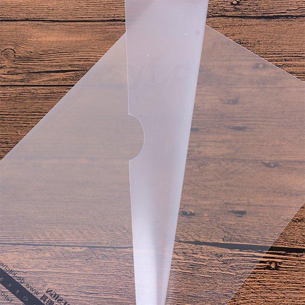 A4單層L夾-透明PP材質單色印刷