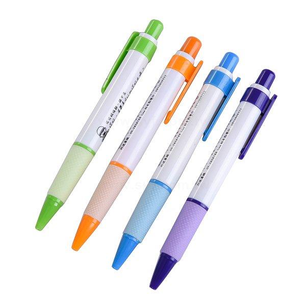 廣告筆-胖胖筆管環保禮品-單色原子筆-工廠客製化印刷贈品筆