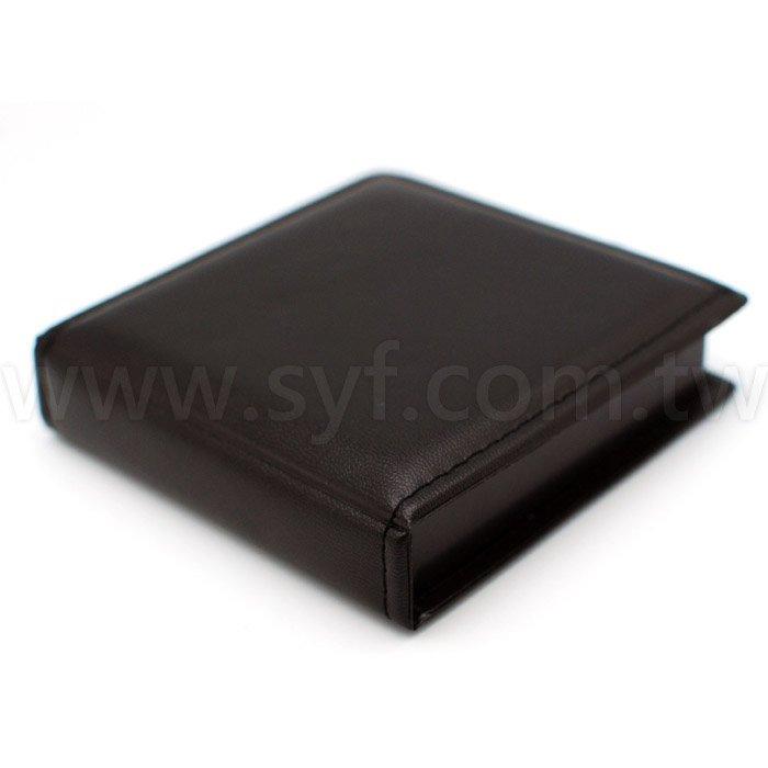 盒裝便條紙-內頁150張可印刷-皮紋外盒