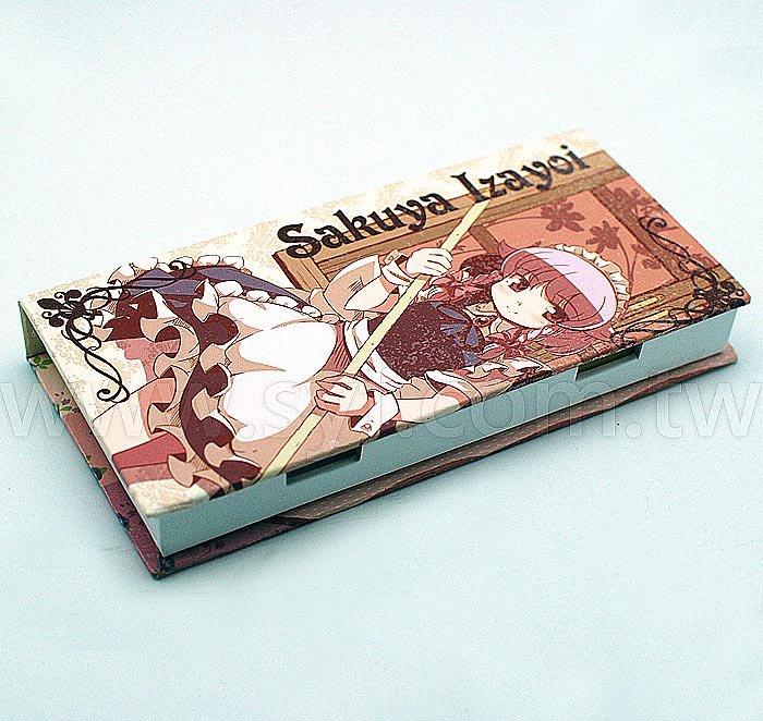 盒裝便條紙-二合一內頁各100張可印刷-封面單面彩色印刷上霧膜