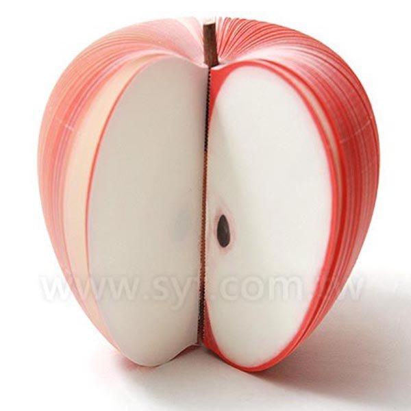 水果便條紙-蘋果便條紙-內頁150張可印刷