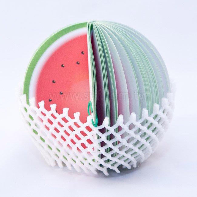 水果便條紙-西瓜便條紙-內頁150張可印刷