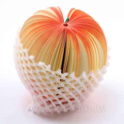 水果便條紙-桃子便條紙-內頁150張可印刷