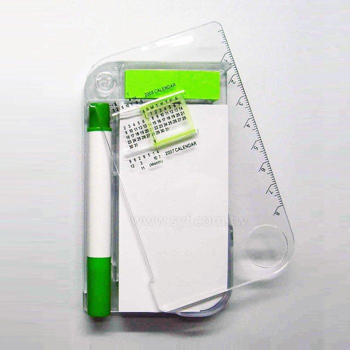 旋轉年曆便條紙-內頁70張可印刷-附便利貼加筆