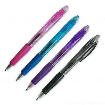 廣告筆-珍珠粉防滑筆管禮品-單色原子筆-四款筆桿可選-採購批發贈品筆