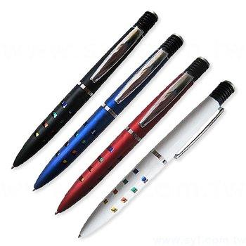 廣告金屬筆-魔術筆管禮品-單色原子筆-四款筆桿可選-採購客製印刷贈品筆