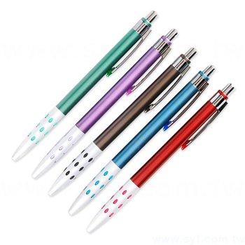 廣告金屬筆-霧管商務禮品-單色原子筆-五款筆桿可選-採購客製印刷贈品筆