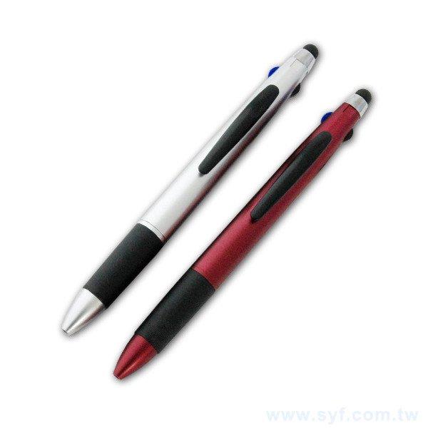 觸控筆-半金屬消光筆桿印刷-手機觸控禮品廣告筆-兩款式可選-採購訂製贈品筆