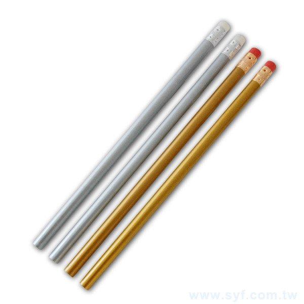 鉛筆-烤漆筆桿印刷原木環保禮品-橡皮擦頭廣告筆-工廠客製化印刷贈品筆