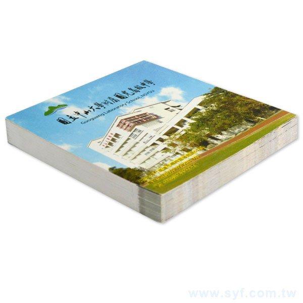 封卡便條紙-內頁100張單面單色印刷-封面彩色印刷未上膜