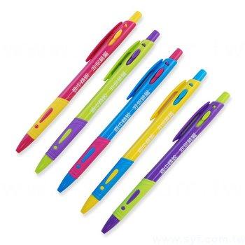 廣告筆-造型環保筆管推薦禮品-單色原子筆-五款筆桿可選-採購印刷贈品筆