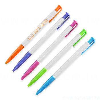廣告筆-環保筆管推薦禮品-單色原子筆-五款筆桿可選-工廠客製化印刷贈品筆