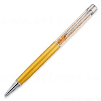 廣告水晶筆-股東會推薦金屬禮品筆-商務鑽石廣告原子筆-客製批發贈品筆
